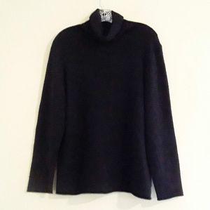 Eileen Fisher Cashmere Turtleneck Sweater Size XL